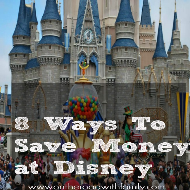 how to save money at Disney