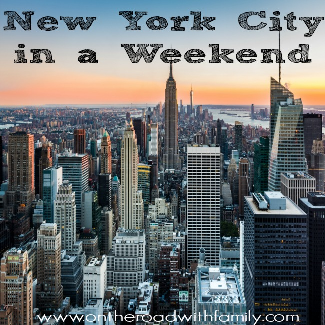 Do you only have a weekend to do New York City? We have a list of things you can do in New York City in just a weekend