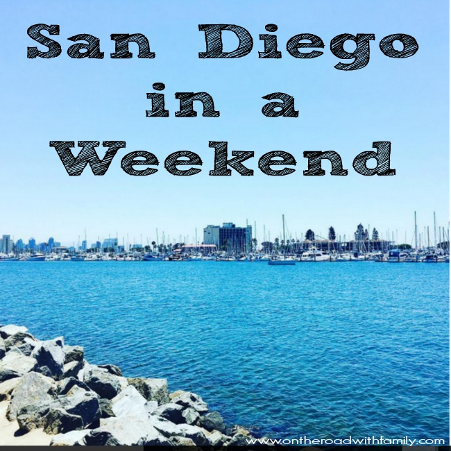You can so many fun things in San Diego, California even if you only have a weekend! Everything from great museums to great food!