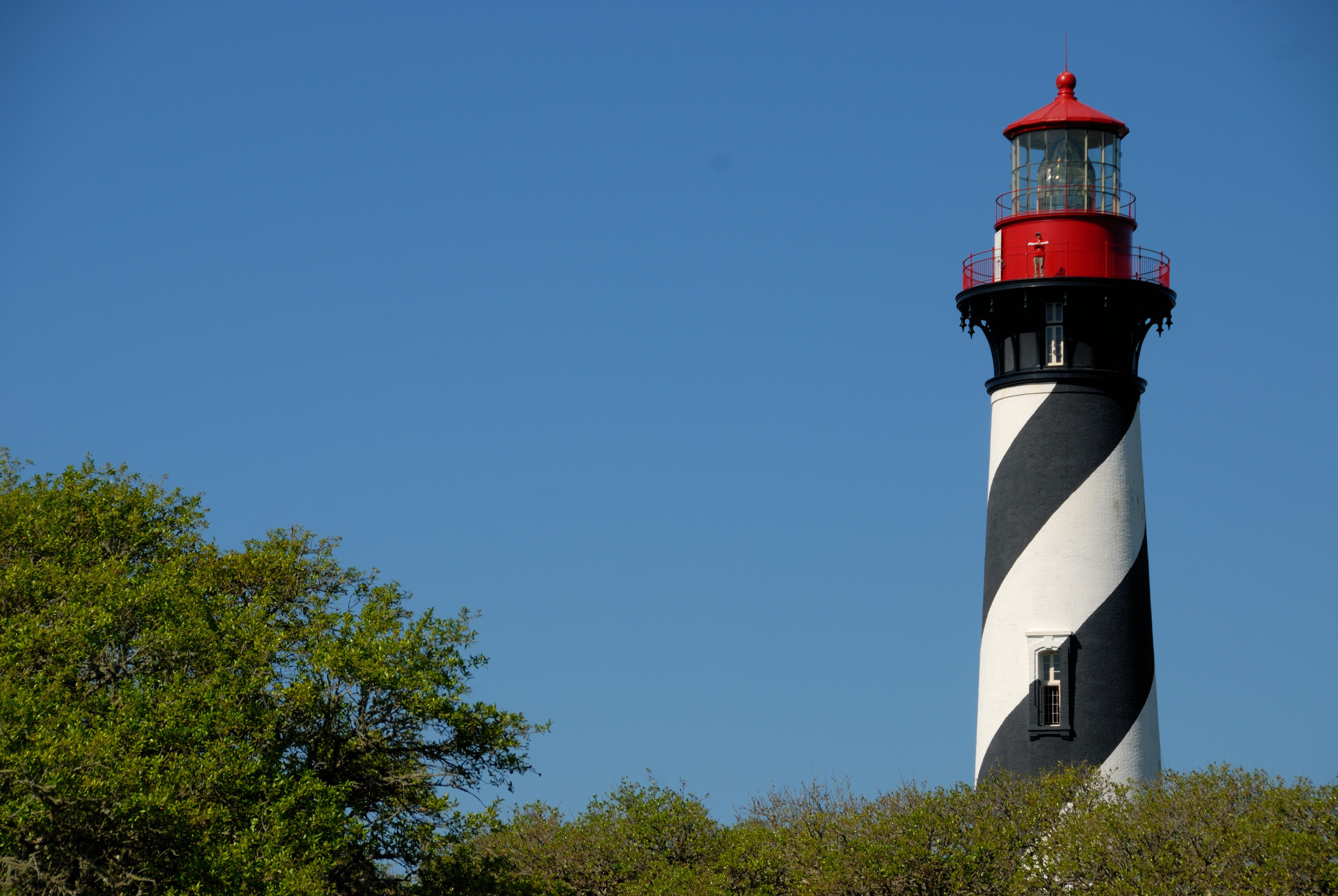 Historic St. Augustine Lighthouse Florida Usa