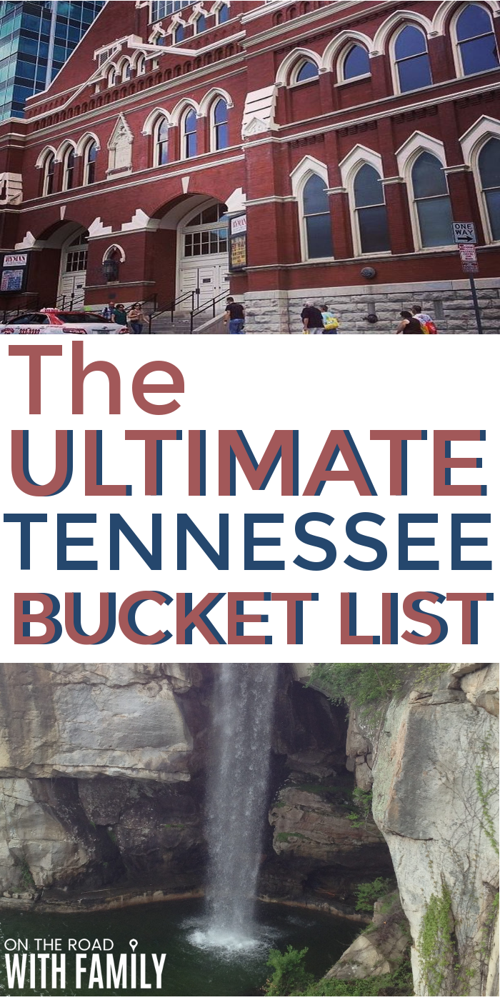 Things to do on Your Tennessee Vacation. Places to see such as Gatlinburg and Nashville, the Ultimate Bucket List! #Tennessee #tennesseevacation