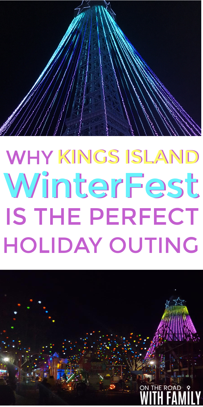 Kings Island WinterFest in Cincinnati, Ohio is the perfect Holiday Outing